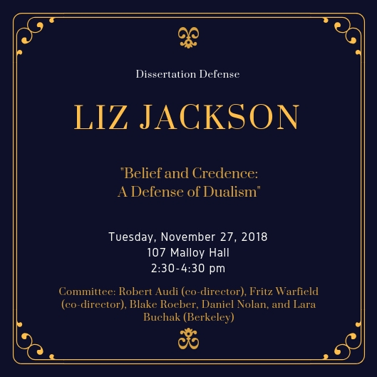 Liz Jackson Defense