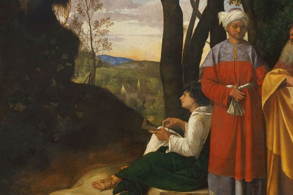Giorgione Three Philosophers Google Art Project